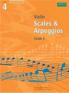 ABRSM Violin Scales And Arpeggios: Grade 4 2008-2011 Books | Violin