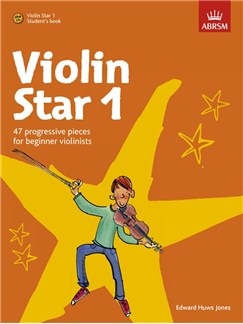 Edward Huws Jones: Violin Star 1 - Student's Book Books and CDs | Violin