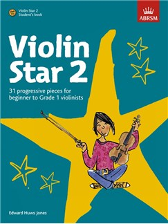 Edward Huws Jones: Violin Star 2 - Student's Book Books and CDs | Violin