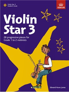 Edward Huws Jones: Violin Star 3 - Student's Book Books and CDs | Violin