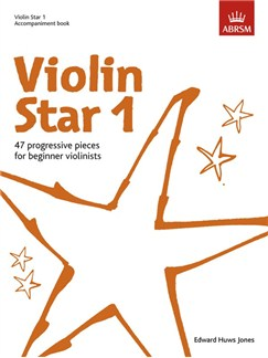 Edward Huws Jones: Violin Star 1 - Accompaniment Book Books | Piano Accompaniment