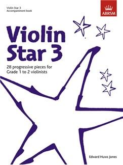 Edward Huws Jones: Violin Star 3 - Accompaniment Book Books | Piano Accompaniment
