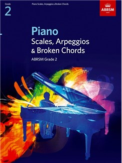 ABRSM Piano Scales, Arpeggios and Broken Chords: From 2009 (Grade 2) Libro | Piano