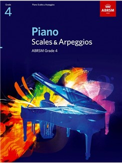 ABRSM Piano Scales and Arpeggios Grade 4 Books | Piano