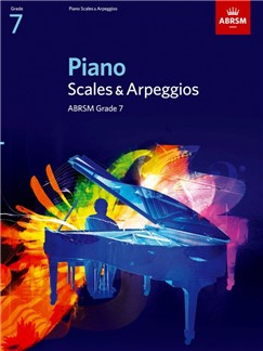 ABRSM Piano Scales and Arpeggios Grade 7 Books | Piano