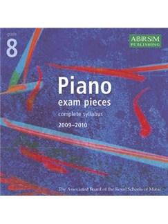 ABRSM Piano Exam Pieces: 2009-2010 (Grade 8) - 2CDs CDs   Piano