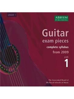 ABRSM: Guitar Exam Pieces From 2009 - Grade One (CD) CDs | Guitar