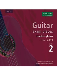 ABRSM: Guitar Exam Pieces From 2009 - Grade Two (CD) CDs | Guitar