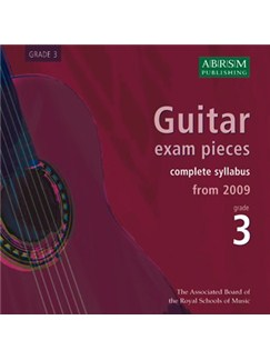 ABRSM: Guitar Exam Pieces From 2009 - Grade Three (CD) CDs | Guitar