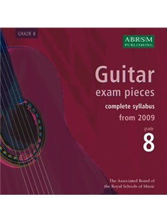 ABRSM: Guitar Exam Pieces From 2009 - Grade Eight (CDs) CDs | Guitar