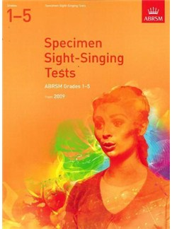 ABRSM Sight Singing Tests: From 2009 (Grades 1-5) Books | Voice