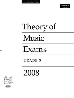 ABRSM Theory Of Music Examinations: Test Paper - Grade 5 (2008) Books |