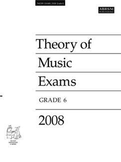 ABRSM Theory Of Music Examinations: Test Paper - Grade 6 (2008) Books |