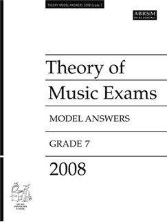 ABRSM Theory Of Music Examinations: Model Answers - Grade 7 (2008) Books |