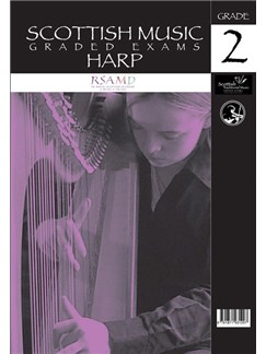 Scottish Music: Graded Exams - Harp Grade 2 Books | Harp