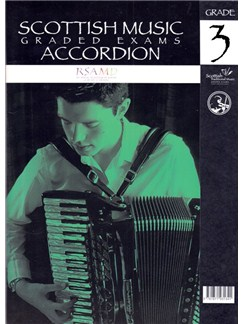 Scottish Music: Graded Exams - Accordion Grade 3 Books | Accordion