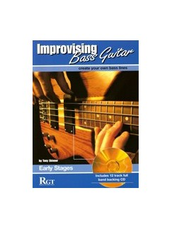 Improvising Bass Guitar: Early Stages (Book/CD) Books and CDs | Bass Guitar
