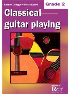 Registry Of Guitar Tutors: Classical Guitar Playing - Grade 2 Books | Guitar, Classical Guitar