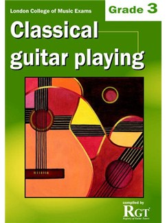Registry Of Guitar Tutors: Classical Guitar Playing - Grade 3 Books | Guitar, Classical Guitar