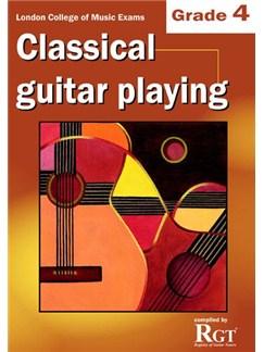 Registry Of Guitar Tutors: Classical Guitar Playing - Grade 4 Books | Guitar, Classical Guitar