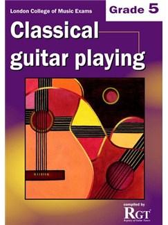Registry Of Guitar Tutors: Classical Guitar Playing - Grade 5 Books | Guitar, Classical Guitar