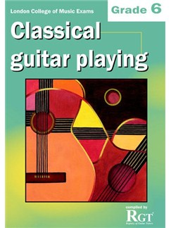 Registry Of Guitar Tutors: Classical Guitar Playing - Grade 6 Books | Guitar, Classical Guitar