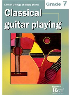 Registry Of Guitar Tutors: Classical Guitar Playing - Grade 7 Books | Guitar, Classical Guitar