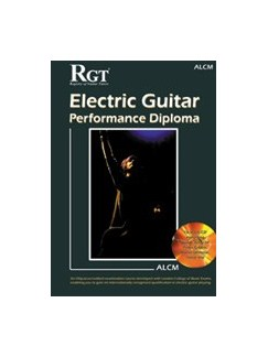 Registry Of Guitar Tutors: Electric Guitar Performance Diploma Handbook - ALCM (Book/CD) Books and CDs | Electric Guitar