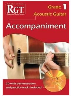 Registry Of Guitar Tutors: Acoustic Guitar Accompaniment - Grade 1 (Book/CD) Books and CDs | Acoustic Guitar