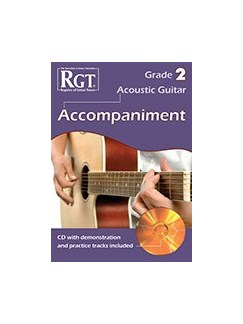 Registry Of Guitar Tutors: Acoustic Guitar Accompaniment - Grade 2 (Book/CD) Books and CDs | Acoustic Guitar