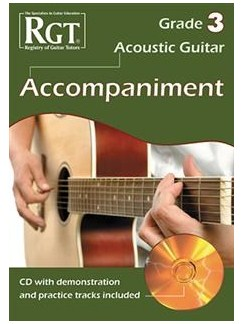 Registry Of Guitar Tutors: Acoustic Guitar Accompaniment - Grade 3 (Book/CD) Books and CDs | Acoustic Guitar