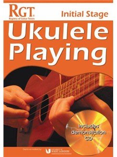 Registry Of Guitar Tutors: Ukulele Playing - Initial Stage (Book/CD) Books and CDs | Ukulele