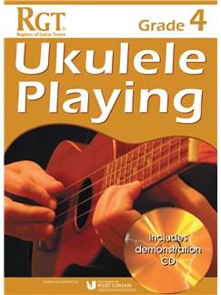 Registry Of Guitar Tutors: Ukulele Playing - Grade 4 (Book/CD) Books and CDs | Ukulele