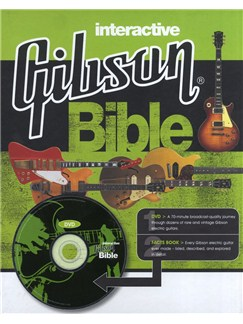 Interactive Gibson Bible (Book and DVD) Books and DVDs / Videos | Bass Guitar, Guitar