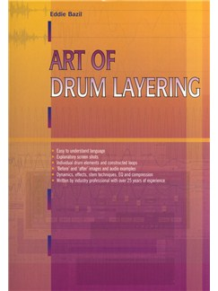 Eddie Bazil: Art Of Drum Layering Books | Drums