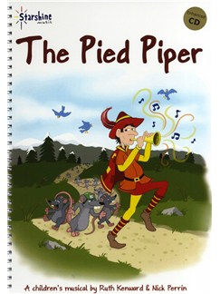 Ruth Kenward/Nick Perrin: The Pied Piper Books and CDs | Piano, Vocal & Guitar (with Chord Symbols)