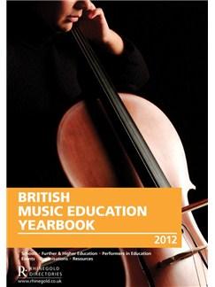 British Music Education Yearbook 2012 Books  