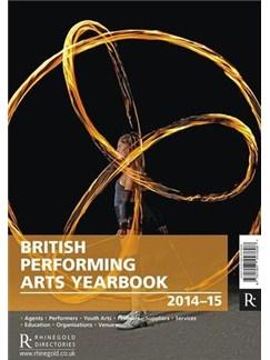 British Performing Arts Yearbook 2014-15 Books |
