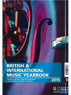 The British & International Music Yearbook: 2015 (Black & White) Books |