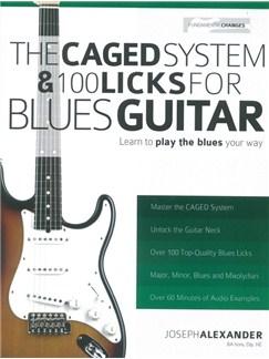 Joseph Alexander: The Caged System & 100 Licks For Blues Guitar Books   Guitar