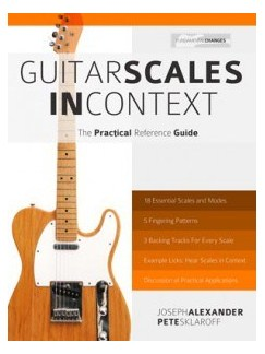 Joseph Alexander/Pete Sklaroff: Guitar Scales In Context - The Practical Reference Guide Books | Guitar