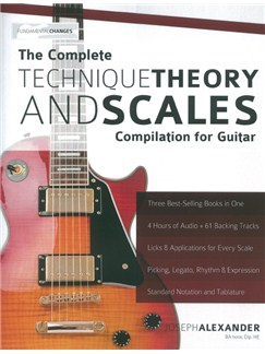 Joseph Alexander: The Complete Technique, Theory And Scales Compilation For Guitar Books | Guitar