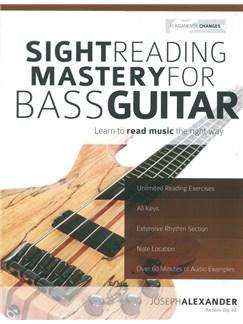 Joseph Alexander: Sight Reading Mastery For Bass Guitar Books | Bass Guitar