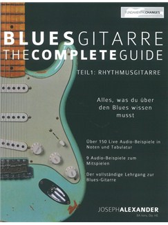 Joseph Alexander: Blues Gitarre - The Complete Guide: Teil 1 - Rhythmusgitarre Books | Guitar