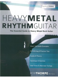 Rob Thorpe: Heavy Metal Rhythm Guitar Books | Guitar