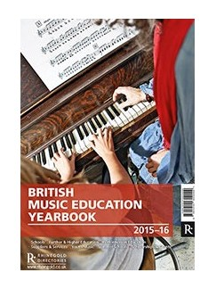 British Music Education Yearbook 2015-2016 Books |