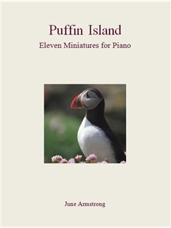 June Armstrong: Puffin Island - Eleven Miniatures For Piano Books | Piano