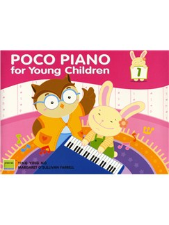 Ying Ying Ng/Margaret O'Sullivan Farrell: Poco Piano For Young Children - Book 1 Books | Piano