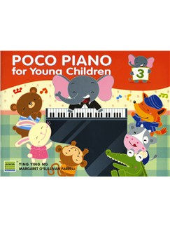 Ying Ying Ng/Margaret O'Sullivan Farrell: Poco Piano For Young Children - Book 3 Books | Piano