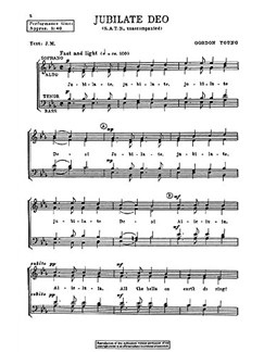 Gordon Young: Jubilate Deo Books | SATB